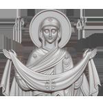 Храм Покрова Пресвятой Богородицы Логотип