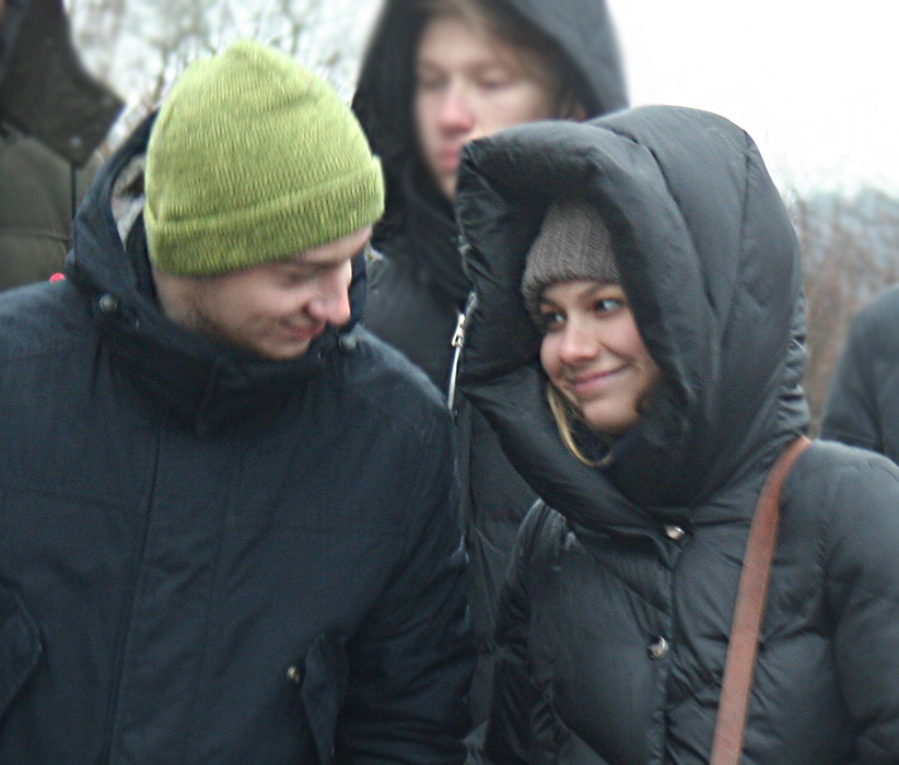 Экскурсия студентов СПб Политехнического университета