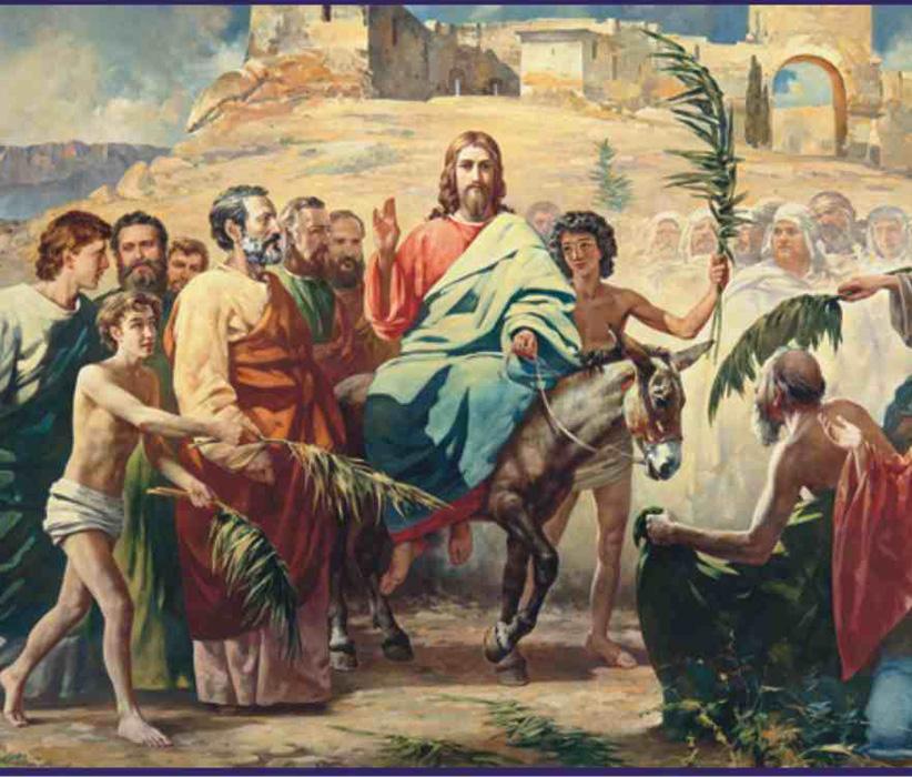 НЕДЕЛЯ 6-я, ваий.Вход Господень в Иерусалим