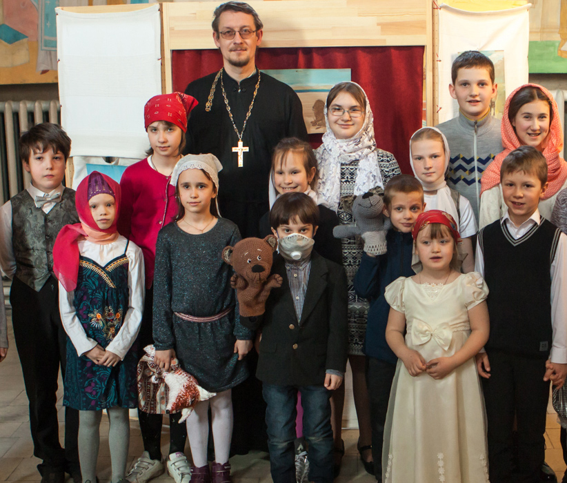 Праздник в воскресной школе