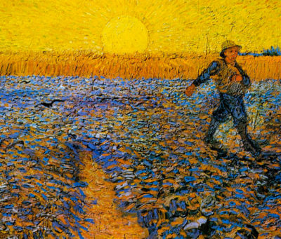 Ван Гог, «Сеятель и закат»